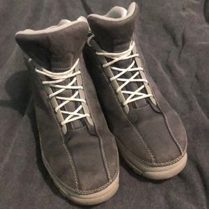 Vintage Timberland Grey Suede/White Leather